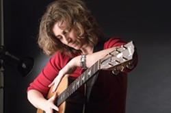 STRING GENIUS :  Virtuoso guitarist Vicki Genfan plays Jan. 13 at Steve Key's songwriter showcase at The Clubhouse, and Jan. 14 at Santa Maria's 3rd Coast Café. - PHOTO COURTESY OF VICKI GENFAN
