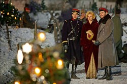 "MERRY CHRISTMAS:  ""Joyeux Noel,"" which depicts a real incident that occurred on Christmas Eve in 1914, when French, German, and Scottish soldiers agreed to a brief truce to celebrate Christmas, was screened and discussed Nov. 30. Take Two Live next screens David Lean's ""Brief Encounter"" on Jan. 18. - PHOTO COURTESY OF NORD-QUEST PRODUCTIONS"
