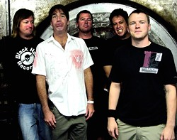 STILL PUNKS, BUT WITH NEW T-SHIRTS :  Punk rock superstars Guttermouth play Downtown Brew on April 10. - PHOTO COURTESY OF GUTTERMOUTH