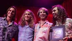 BEST BLUES/R&B:  Best Live Performance goes to the evening's closing act, Próxima Parada, whose blue-eyed soul sounds are sonic gold. - PHOTO BY GLEN STARKEY