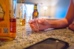 CHECK YOURSELF:  Sex and drinking go together like peanut butter and jelly, or so it seems, but sometimes they shouldn't. In fact, legally, a person under the influence of a substance can't give consent. In the case of a somewhat blurry sexual assault case: Cal Poly's Title IX Office asks a number of questions about the victim's ability to give consent: How drunk was that person? Were they slurring their words? Could they stand up? Would a reasonable-thinking person have felt that person had the ability to give consent? The onus for getting that consent falls on the alleged perpetrator. - PHOTO BY KAORI FUNAHASHI