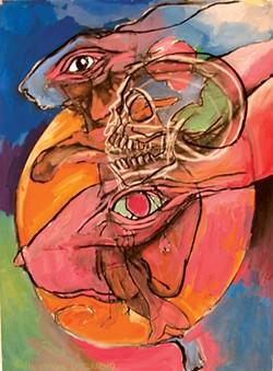 DEATH JOYRIDING: - ARTWORK BY BOB PELFREY