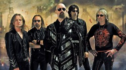 METAL GODS:  Judas Priest brings their heavy metal magic to Vina Robles Amphitheatre on Oct. 16. - PHOTO COURTESY OF JUDAS PRIEST