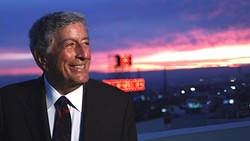 CLASS ACT:  Tony Bennett will present an evening of American songbook, pop, and jazz standards on May 16 at Vina Robles Amphitheatre. - PHOTO COURTESY OF TONY BENNETT