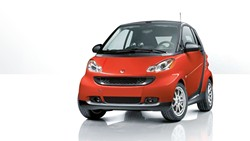 BEEP BEEP! :  SLO Monday Rotary Club will raffle a Smart Fortwo Passion Coupe to fund the development of water pumps for poor regions. - PHOTO COURTESY OF SMART CENTER SANTA BARBARA