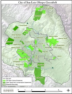 PROTECT AND PRESERVE :  More than 7,000 acres in and around SLO have been set aside for permanent conservation. - IMAGE COURTESY OF CITY OF SLO