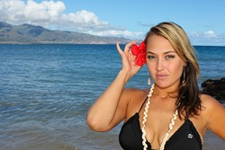 ANUHEAKE'ALAOKALOKELANI :  Don't worry. You can call Hawaiian pop singer by her short name, Anuhea, playing May 31 at SLO Brew. - PHOTO COURTESY OF ANUHEA