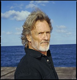 """KRIS KRISTOFFERSON:  A three-time Grammy winning singer, Kris Kristofferson's repertoire includes such hits as """"Me and Bobby McGee,"""" """"Help Me Make It Through the Night,"""" and """"For The Good Times."""" Oct. 17 at 8 p.m. at the PAC. $42-48. www.kriskristofferson.com. - PHOTO COURTESY OF KRIS KRISTOFFERSON"""
