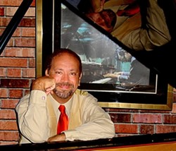 NYC PIANO MAN :  Recent Central Coast transplant, former NYC jazz pianist Mark Pietri, brings his jazz stylings to Sustenance Cooking Studio on April 3 for music and food. - PHOTO COURTESY OF MARK PIETRI