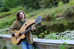 ELEVEN STRINGS:  American troubadour William James Nicholson plays Shell Café on July 25. - PHOTO COURTESY OF WILLIAM JAMES NICHOLSON