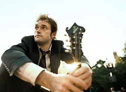 PLAY YOU A SONG:  Thile, acclaimed mandolin player and vocalist, performed a solo show at the Cal Poly Performing Arts Center on Monday, Nov. 9. - PHOTO COURTESY OF THE CAL POLY PERFORMING ARTS CENTER