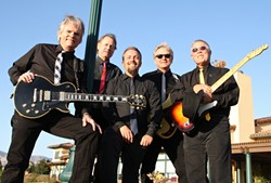 BEATLES TRIBUTE!:  Unfinished Business plays Mongo's on Feb. 8 to celebrate the 50th anniversary of the Beatles' first U.S. appearance. - PHOTO COURTESY OF UNFINISHED BUSINESS