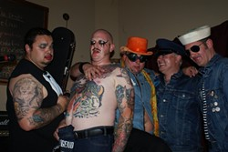 MOMMA'S BOYS :  Rayna's Roaring '20s Birthday Extravaganza features Sexy Time Explosion (pictured), Berserks, and Meth Leopard on Jan. 19 at Sweet Springs Saloon. - PHOTO COURTESY OF SEXY TIME EXPLOSION