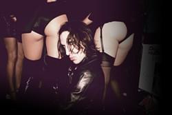 NASTY AND GOOD :  Gothic rapper Mickey Avalon crawls into SLO Brew on Oct. 30. - PHOTO COURTESY OF MICKEY AVALON