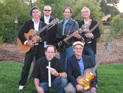 GOOD FELLAS! :  See The Paisanos with their new members on Oct. 15 at Frog and Peach. - PHOTO COURTESY OF THE PIASANOS