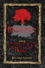 BECKMEN VINEYARDS 2013 GRENACHE ROSE   :