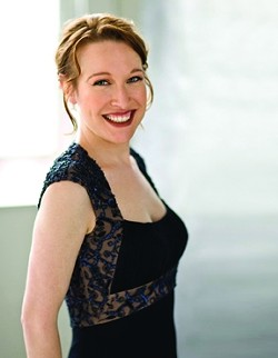 'A GUARDIAN ANGEL':  Soprano Ava Pine's debut performance with the San Luis Obispo Symphony featured the work of composers Osvaldo Golijov and Johannes Brahms. - PHOTO COURTESY OF THE SLO SYMPHONY