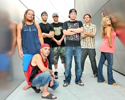 THE FUTURE OF MUSIC :  Hit SLO Brew on May 31 for a night of reggae and hip hop with the Mystic Roots Band. - PHOTO COURTESY OF MYSTIC ROOTS BAND
