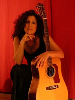 SOULFUL SISTER :  Singer-songwriter Shakeh plays May 27 and 28 at The Porch in Santa Margarita. - PHOTO COURTESY OF SHAKEH