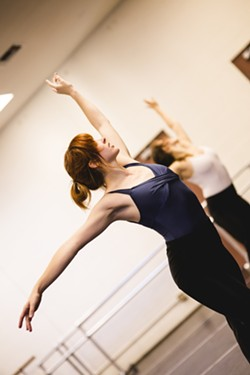 SLO'S GWEN VERDON:  Jenna Lee, who shined as Betty Parris in Civic Ballet's The Crucible, never ceases to impress. - PHOTO BY HENRY BRUINGTON
