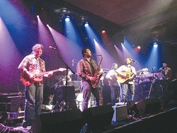 FEEL GOOD FUN :  Ten Mile Tide flows with spirit and talent, ready to fill the dance floor at the free Stone Soup Music Faire in Grover Beach on Aug. 29. - PHOTO COURTESY OF TEN MILE TIDE