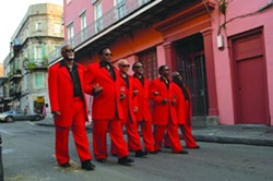 HEAVENLY HARMONIES :  The Blind Boys of Alabama bring their exuberant holiday show to the Performing Arts Center on Dec. 16. - PHOTO COURTESY OF THE BLIND BOYS OF ALABAMA