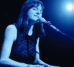 FARE THEE WELL:  World-class singer-songwriter Jude Johnstone is moving to Nashville but plays June 11 at Steynberg Gallery and June 12 at Painted Sky Studios before she goes. - PHOTO COURTESY OF JUDE JOHNSTONE