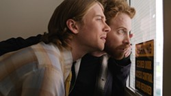 THE STORY OF LUKE :  Lou Taylor Pucci, left, is Luke, an autistic man who learns to live on his own, which involves being yelled at and later befriended by the deranged-seeming Zack (Seth Green, right), in writer-director Alonso Mayo's outstanding narrative feature debut.