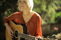 'SOUL-FOLK' :  South County singer-songwriter Katie Boeck is back from studying and singing in L.A. for an Aug. 29 concert at The Spot. - PHOTO COURTESY OF KATIE BOECK