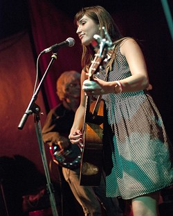 HEAD TURNER :  Jade Jackson wowed the crowd with her haunting songs and luscious voice. - PHOTO BY STEVE E. MILLER