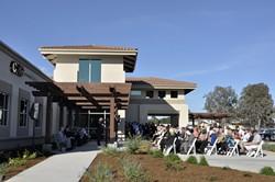 HERE'S TO YOUR HEALTH :  The brand new, 28,000-square-foot, $9 million Nipomo Community Medical Center opens its doors to patients on March 11, brought to you by Community Health Centers of the Central Coast, the Affordable Care Act, and about 7.5 million in stimulus funding. - PHOTO BY CAMILLIA LANHAM