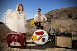 GARAGE R&B:  Americana roots duo Smooth Hound Smith plays June 23 at Linnaea's Café. - PHOTO COURTESY OF SMOOTH HOUND SMITH