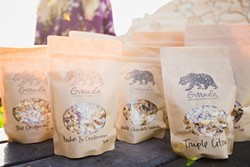 STOMACH GROWLIN':  With flavors like cocoa and cayenne and triple citrus, Grrrnola provides a healthy morning wakeup call. - PHOTO BY KAORI FUNAHASHI