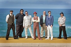 LIFE'S A BEACH:   The 10th Anniversary Summer Solstice Reggae Festival begins on June 20 at Avila Beach Resort, featuring headliner Fat Freddy's Drop. - PHOTO COURTESY OF FAT FREDDY'S DROP
