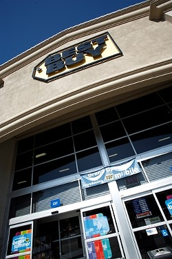 BIG BUSINESS:  the owner of a local record store, Cheap Thrills is suing retail giant Best Buy for unfair business practices. - PHOTO BY STEVE E. MILLER