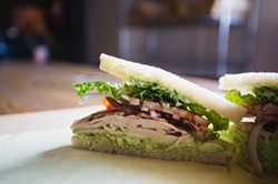 MADE TO ORDER:  At Lincoln Market, a slew of creative, addictive, made-to-order sandwiches harken back to old timey deli days while maintaining a modern edge with killer from-scratch sauces. - PHOTO BY KAORI FUNAHASHI