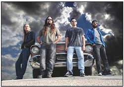 """TO THOSE WHO ARE ABOUT TO ROCK :  Rusted Stone (pictured) and Society's Child promise to play a """"kick ass night of rock'n'roll"""" on June 12 at Mongo's. - PHOTO COURTESY OF RUSTED STONE"""