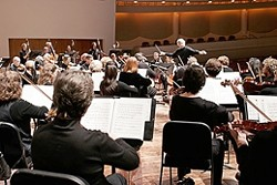 THE IMMORTAL NINTH :  The SLO Symphony's 50th season finale concert will feature the world premiere of composer Craig Russell's Celebrations, followed by Beethoven's immortal Ode to Joy. Don't miss out! - PHOTO BY BARRY GOYETTE