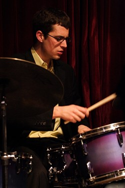 YOUNG LION :  NYC drummer/composer Matt Slocum will bring his skills to Cuesta College on March 15 to promote his debut album Portraits. - PHOTO BY TIM SCUDDER