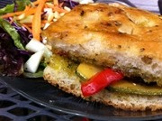 TASTY: :  The Baywood Grilled Veggie Sandwich is proving to be a popular menu item at BeLoved Café. - PHOTO COURTESY CENTRAL COAST FOODIES