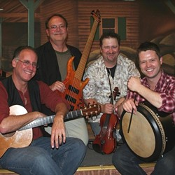 CELTIC CONNECTION :  Sligo Rags (pictured) and Little Black Train will bring Celtic and bluegrass to Arroyo Grande's Rotary Bandstand in Heritage Square Park on Aug. 1. - PHOTO COURTESY OF SLIGO RAGS