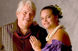 "BRINGING HAWAII TO YOU :  Keola and Moana Beamer (aka—""Hawaii's First Couple""), will present Hawaii's cultural arts on March 19 in Cal Poly's Spanos Theatre. - PHOTO COURTESY OF KEOLA AND MOANA BEAMER"