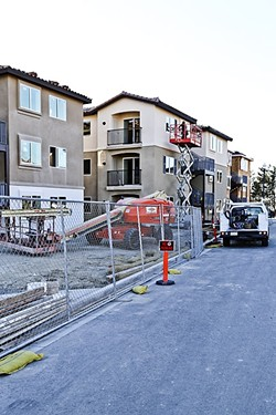 IN THE MIX:  The first phase of the Villages at Pacific West in Pismo Beach are now for sale, offering a mix of affordable, entry-level, and moderately priced housing. - PHOTO BY DYLAN HONEA-BAUMANN