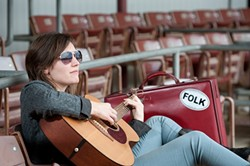 KAT DEVLIN MADE ME DO IT :  Fall in love with folk again when Kat Devlin plays Feb. 7 at Kreuzberg. - PHOTO COURTESY OF KAT DEVLIN