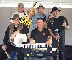 PUT ON YOUR DANCING SHOES! :  Second Wind will provide the sounds for a street dance from 6 to 9 p.m. in front of City Park. - PHOTO COURTESY OF THE SECOND WIND BAND