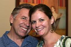 HAPPY LOVIN' COUPLE! :  My friends Steve Myrick and Jen Anthony make me sick. Blech! - PHOTO BY GLEN STARKEY