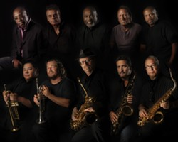 OAKTOWN HEROES :  Oakland-bred soul act Tower of Power, now in their 41st year, plays the 17th Annual Avila Blues Festival, on May 30. - PHOTO COURTESY OF TOWER OF POWER
