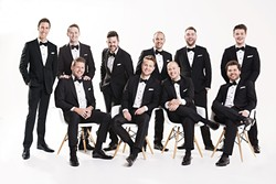 """HOLIDAY VOICES:  The Ten Tenors bring their """"Home for the Holiday"""" concert to the Performing Arts Center on Dec. 1. - PHOTO COURTESY OF THE TEN TENORS"""