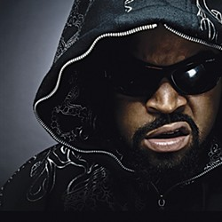 """HE'S CUDDLY! :  Rapper-actor-huggable teddy bear O'Shea """"Ice Cube"""" Jackson brings his angry sounds to Pozo Saloon on Aug. 9. - PHOTO COURTESY OF ICE CUBE"""