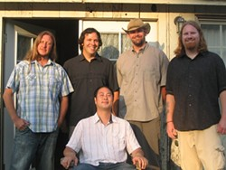 TIGHTER THAN A VIRGIN'S DAUGHTER :  The boys of incredibly tight bluegrass and beyond band Cuesta Ridge will open for Red Eye Junction at Downtown Brew on Jan. 3. - PHOTO BY STEPHANIE BOWEN